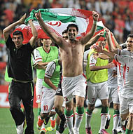 Iran Qualifies for 2014 Football World Cup